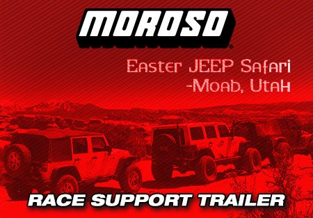 Easter Jeep Safari, Moab, UT- Moroso Race Support
