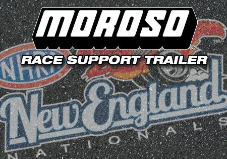 NHRA Divisional, Epping, NH- Moroso Race Support Trailer