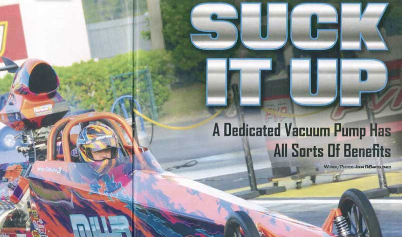"Drag Racing Edge: Featured Article! ""Suck It Up!"""