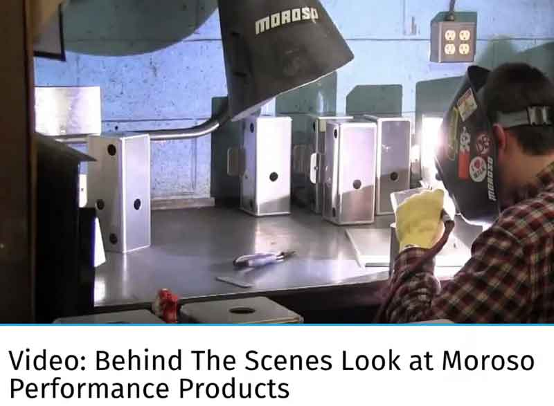 "Turnology: Featured Article! ""Video: Behind The Scenes Look at Moroso Performance Products"""