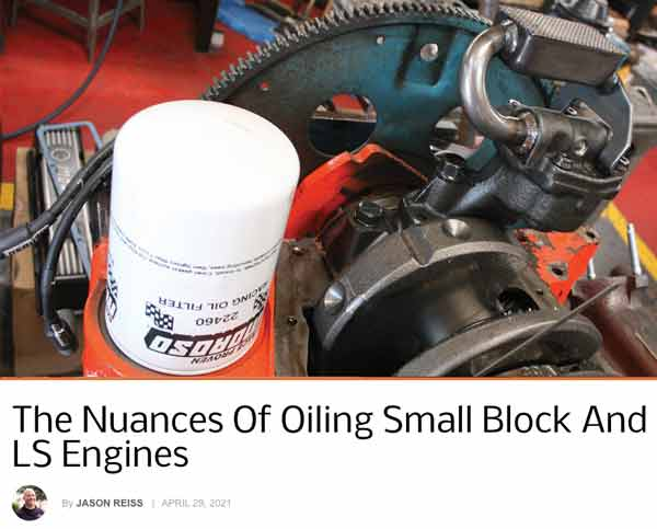 "Chevy Hardcore: Featured Article! ""The Nuances Of Oiling Small Block And LS Engines"""