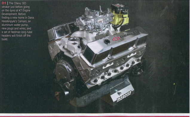 Chevy High Performance: Featured Article!