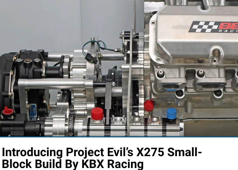 Ford Muscle: Introducing Project Evil's X275 Small Block Build