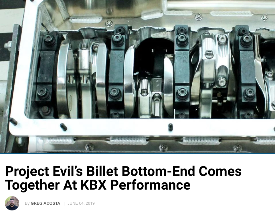 Ford Muscle: Project Evil's Billet Bottom End Comes Together
