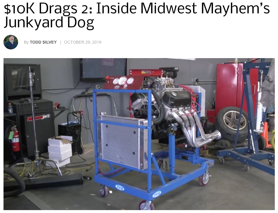 Chevy Hardcore: Features 'Inside Midwest Mayhem's Junkyard Dog'