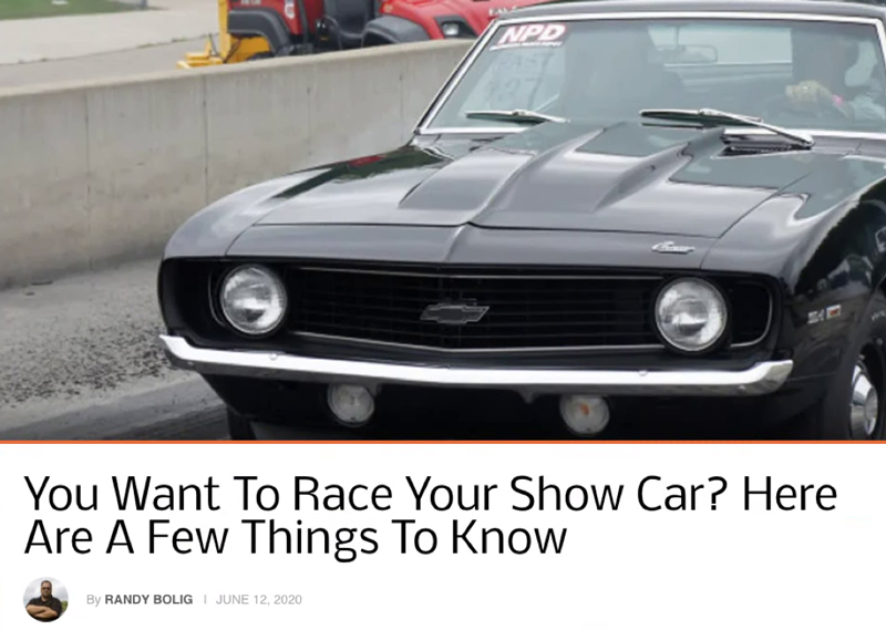 "Chevy Hardcore: Featured Article! ""Want To RaceYour Show Car?"""