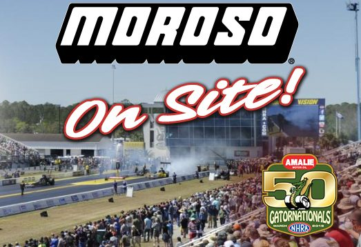 NHRA GATORNATIONALS, Gainesville, FL- Moroso On Site