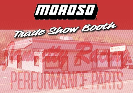 Jannetty Open House, Waterbury, CT- Moroso Trade Show Booth